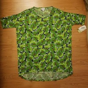 Lularoe Disney Irma Green Kermit